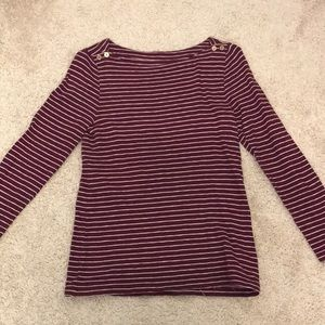 J Crew Long Sleeve Tee